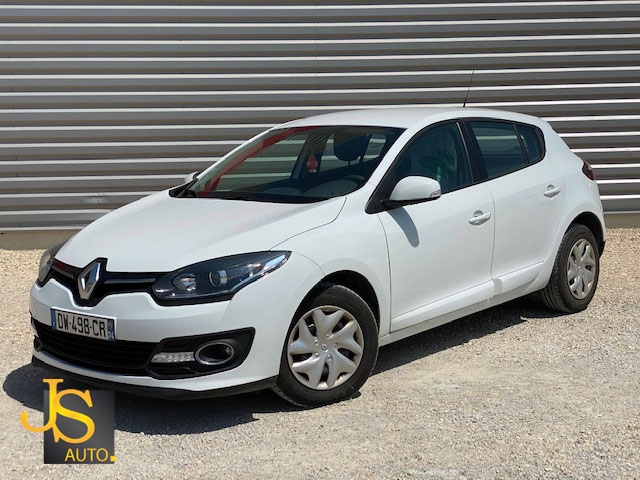 Renault MEGANE DCI 95 CH ENERGY AIR 115 550 KM BV6 Diesel BLANC Occasion à vendre