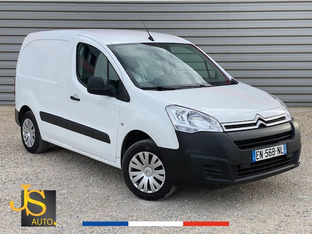 Citroen BERLINGO M BLUEHDI 75 BUSINESS 06/2017 GPS Diesel BLANC Occasion à vendre