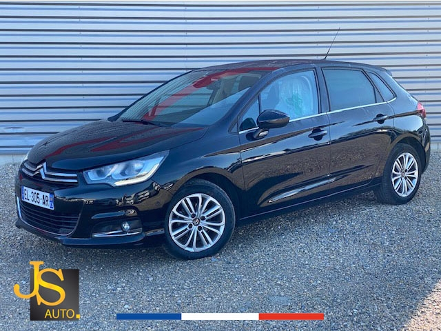 Citroen C4 BLUEHDI 100 CH BUSINESS GPS 2017 Diesel NOIR Occasion à vendre