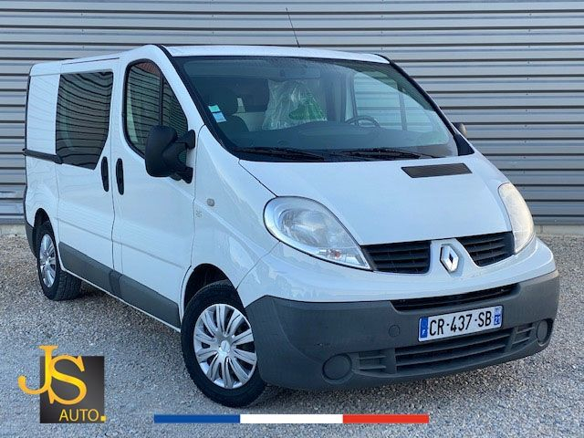 Renault TRAFIC L1H1 2.0 DCI 90CH GD CFT 130 750 KM BV6 Diesel BLANC Occasion à vendre